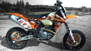2. KTM EXC 450 Supermoto Test ride & Tuning