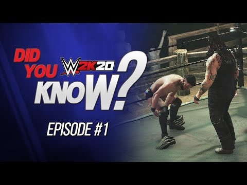 """WWE 2K20 Did You Know?: """"Hands of Fate"""" Payback, New OMG Moments, Alt Cell & More! (Episode 1)"""