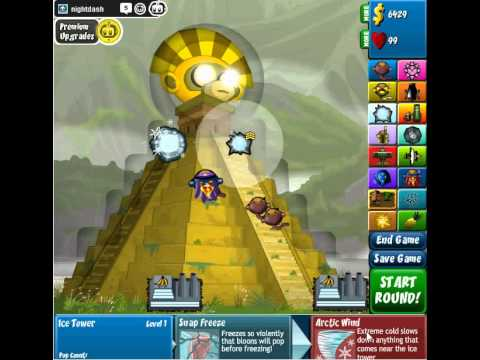 BTD4 Bloons Tower Defense 4 Expansion - Secret of the Temple