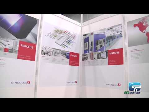 Singulus Technologies : Equipment To Produce Solar cell (Thinfilm and crystalline)