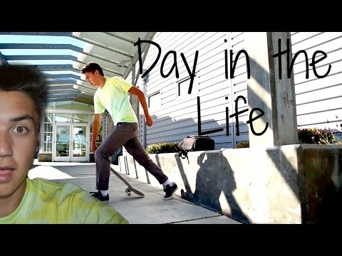 Day in the Life #2 - Funniest Slam Ever, Foster City skatepark + Secret Braille Project