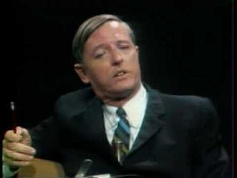 Talk Show - Chomsky vs. Buckley (1969)