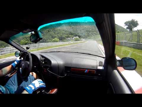 bmw m3 e36: giro al nürburgring nordschleife in poco più di 8 minuti