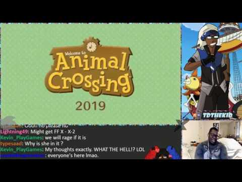 Animal Crossing Switch Live Reaction