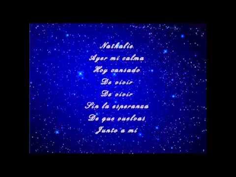 , title : 'Julio Iglesias - Nathalie (with lyrics on screen)'