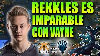 REKKLES CARRILEA con VAYNE en LCS !! | FNC vs H2K Resumen y Highlights