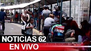 Migrantes tras las rejas por la migra de México. – Noticias 62. - Thumbnail