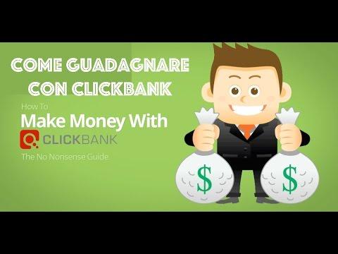 come guadagnare con clickbank affiliazione?