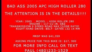 3. Bad Ass Custom Chopper for Sale   (480)233-1529   Phoenix AZ