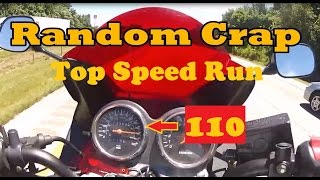 4. GS500f Top Speed Run+Randomness