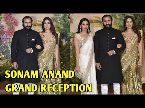 Kareena Kapoor Arrives With Saif Ali Khan At Sonam