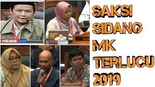 Download Video Kumpulan Video Lucu saksi sidang Perkara pilpres di MK Tahun 2019 MP3 3GP MP4