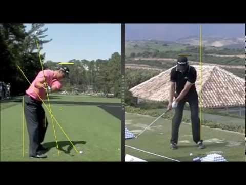 Golf Swing comparison – Tiger Woods, Martin Kaymer, Dustin Johnson