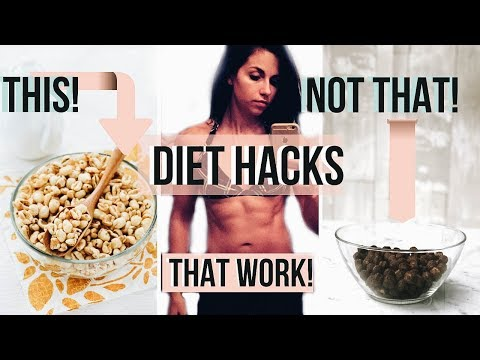 Weight loss pills - 5 DIET HACKS THAT ACTUALLY WORK! Healthy Weight loss TIPS + RECIPES ANYONE Can Do!