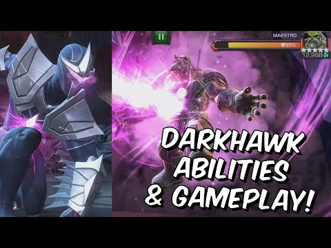 4 Star Darkhawk Rank Up, Abilities & Gameplay - Act 4 Maestro - Marvel Contest Of Champions