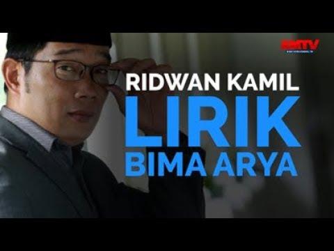 Ridwan Kamil Lirik Bima Arya