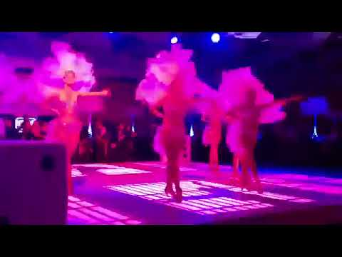 Vegas Showgirls Dance Routine | Performing at FA Party Wembley