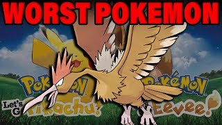 THE WORST POKEMON IN LET'S GO? Pokemon Let's Go Fearow Analysis by Verlisify