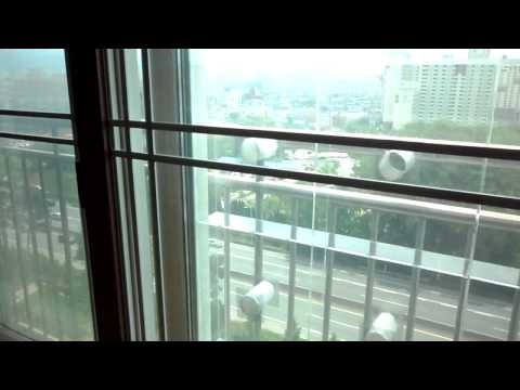 Air Transparent Soundproof Window, a window that blocks sound but let air pass trough.