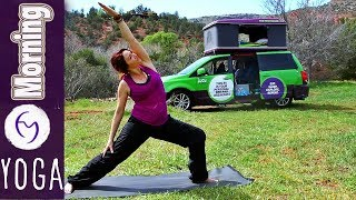 Video 20 Minute Morning Yoga Flow With Fightmaster Yoga MP3, 3GP, MP4, WEBM, AVI, FLV Maret 2018
