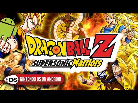 dragon ball z - supersonic warriors 2 nintendo ds rom
