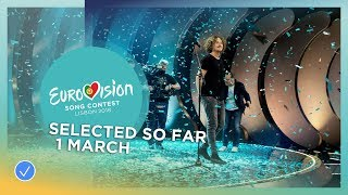 Video Selected entries so far (Updated 1 March 2018) - Eurovision Song Contest 2018 MP3, 3GP, MP4, WEBM, AVI, FLV Maret 2018
