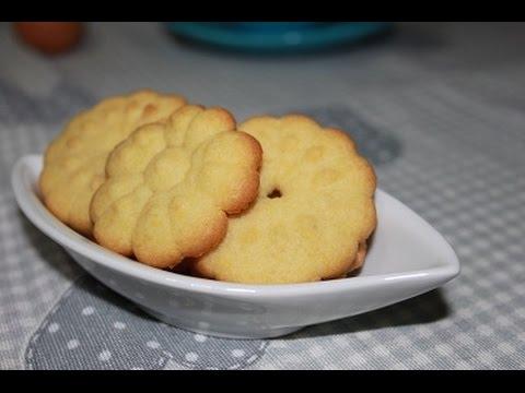 biscotti di frolla montata - ricetta