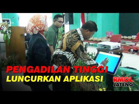 Pengadilan Tinggi Jateng Luncurkan Silaper