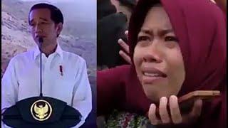 Video Gara2 Pak Jokowi cerita begini, warga Ponorogo ini jadi sedih dan menangis.... MP3, 3GP, MP4, WEBM, AVI, FLV Januari 2019