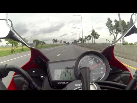 Yamaha YZF-R15 @ Top Speed #2