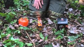 Газовая горелка со встроенной двойной ветрозащитой. Fire-Maple SPARK FMS-121