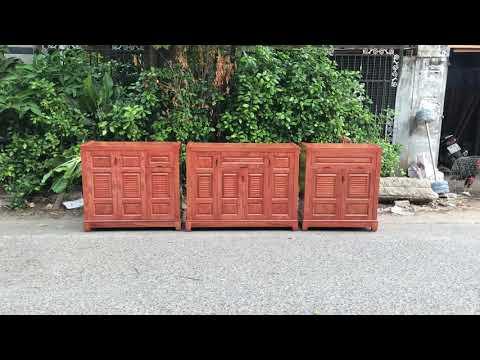 Tổng hợp mẫu tủ giày dép gỗ Hương Đá cao cấp