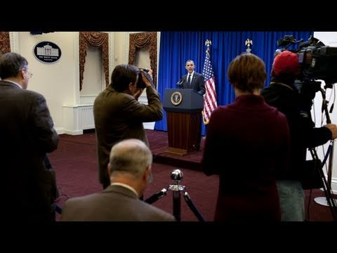President Obama on Tax Cuts Framework and Meeting with CEOs
