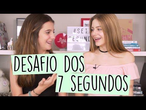 DESAFIOS DOS 7 SEGUNDOS ft. Lu Pinheiro  Valentina Schulz