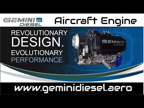 Gemini Diesel aircraft engine from Superior Air Parts.