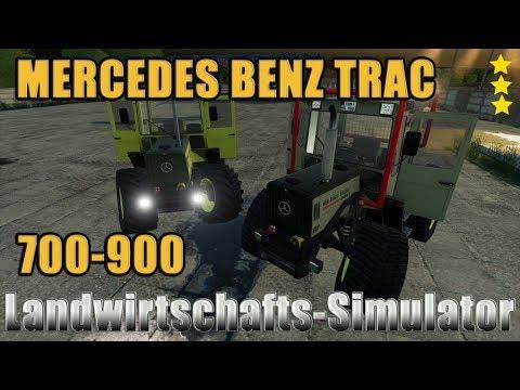 Mercedes Benz Trac 700-900 v0.9