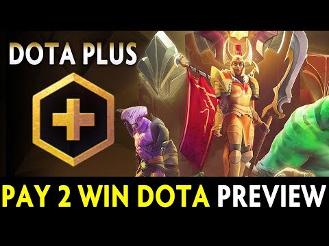 Dota PLUS preview — Dota is Pay 2 Win now