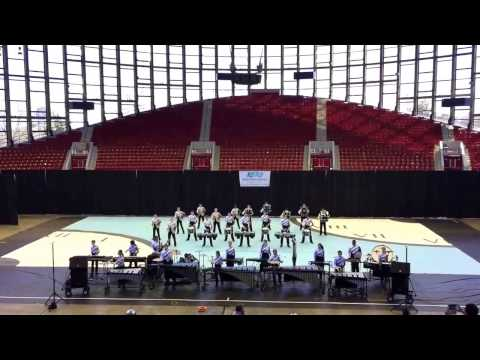 Panther Creek Indoor Percussion 2015 - Time