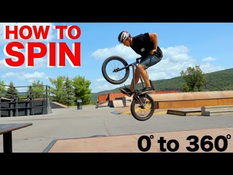 BMX: How-To SPIN! (видео)