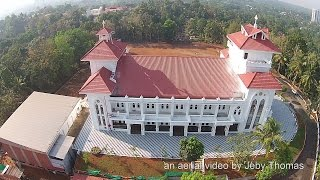 Kottayam India  city photo : St. Peter's Marthoma Church Kottayam Aerial Video Kerala India