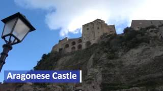 Aragonese Castle (Italian: Castello Aragonese) is a medieval castle next to Ischia (one of the Phlegraean Islands), at the northern end of the Gulf of Naples...