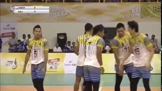 Video Voli Indoor Putra PON JABAR 2016 - Jawa Barat vs Bali MP3, 3GP, MP4, WEBM, AVI, FLV Juli 2018