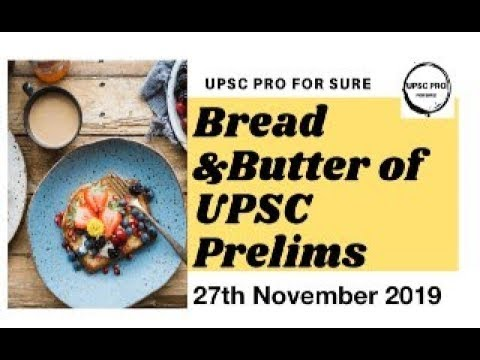 B & B of UPSC Prelims Current Affairs,27 Nov 2019