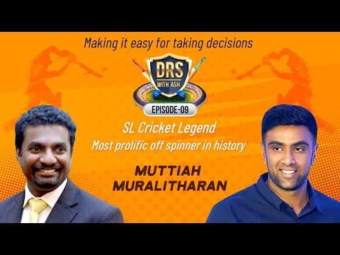 Murali talks about Dhoni, Arjuna, IPL, CSK, SRH | DRS with Ash | Muttiah Muralitharan | Episode 9