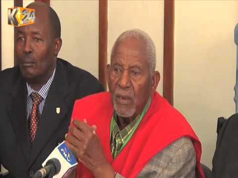 Mau Mau war veterans want Nyeri county Gov't to take care of them