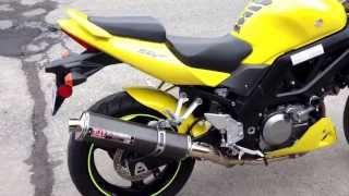 9. 2005 Suzuki SV650(N) with Carbon Yoshimura TRS Slip-On