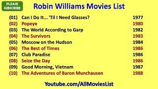 Nonton Robin Williams Movies List Film Subtitle Indonesia Streaming Movie Download