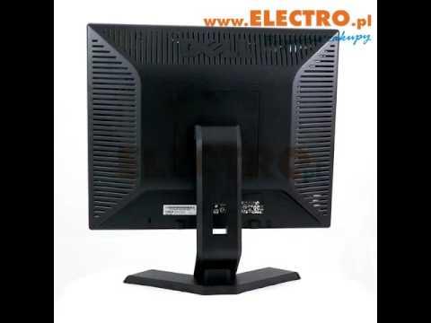 Monitor DELL E170S 17'' 43 1280X1024 3YMR   Szukaj na www.ELECTRO.pl