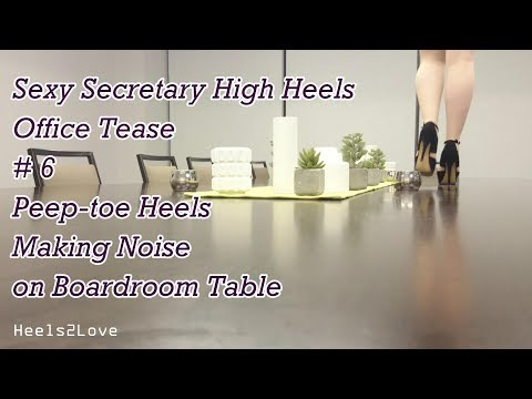 Video Sexy Secretary High Heels Office Tease 6 (Boardroom table, stiletto heels, nylons and short skirt) download in MP3, 3GP, MP4, WEBM, AVI, FLV January 2017