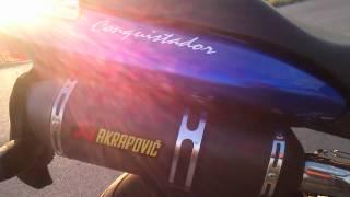 9. Honda Hornet 250 exhaust sound